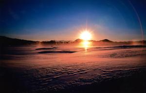 結氷湖の聲