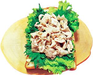 (5)豚しゃぶサンド