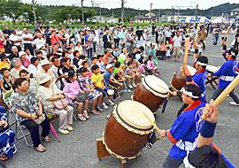 「一緒の夏」満喫 広野のサマーフェスティバル盛況