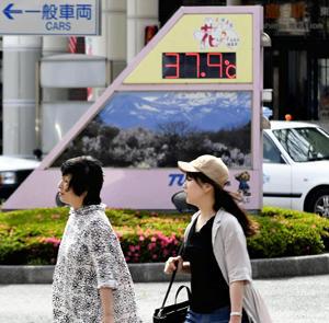 福島県内で今年初の「猛暑日」 ...