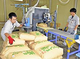福島県産米「全袋検査」始まる 放射性物質は検出せず