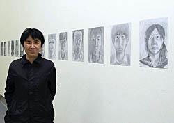 プロと原町高生がコラボ 被災地の写真や自画像展示