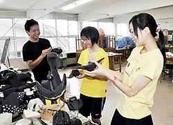 再生願い「漆の鳥」 会津工高生が芸術祭出品へ