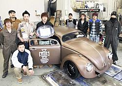 カスタム車の国際審査で優秀賞 郡山の専門学生