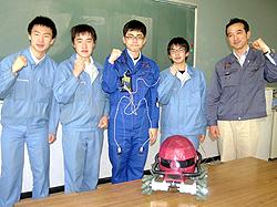 郡山北工高が世界2位 開発ロボット「SmaROBO」快挙