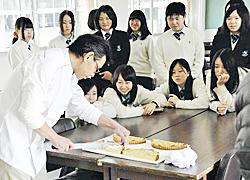 和梨を使ったタルト考案 小名浜高生が商品開発