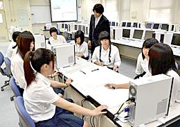 若松商高で「楽天IT学校」開講 1年間ネット店舗運営