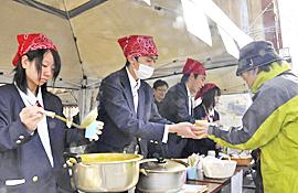 企画商品が好評 喜多方桐桜高と耶麻農高が実践活動