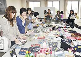 福島で「地球の楽好」 親子らが物々交換会など楽しむ