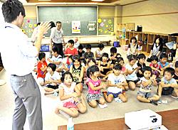 手洗いの大切さ学ぶ 二本松で「食の安全教室」