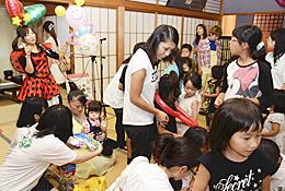 親子でバルーン作り、伊達で体験会 屋内遊び場を提供