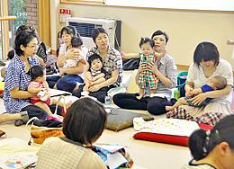 親子21組が交流深める 若松で「エコチルふれあい会」
