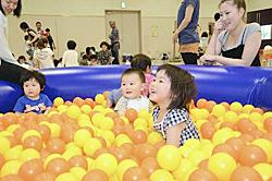 楽しい遊具いっぱい 福島!親子の元気づくり広場