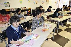 喜多方で子育て支援の講習開始  託児会員資格目指す