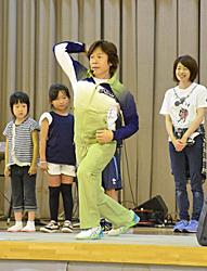 親子で楽しく体力づくり 佐藤弘道さんら天栄でイベント
