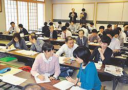 学校新聞づくり考える 若松で指導者研修会